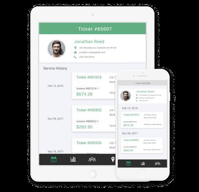 SmartServ mobile app