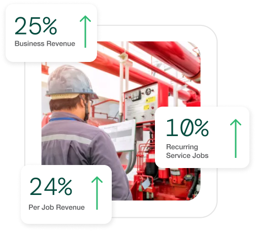 revenue increase by smartserv in fire protection