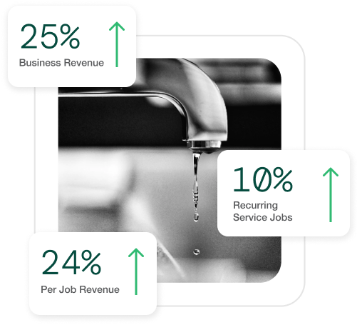 revenue boost in plumbing by Smartserv