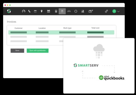 QuickBooks on SmartServ