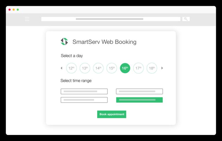 web booking