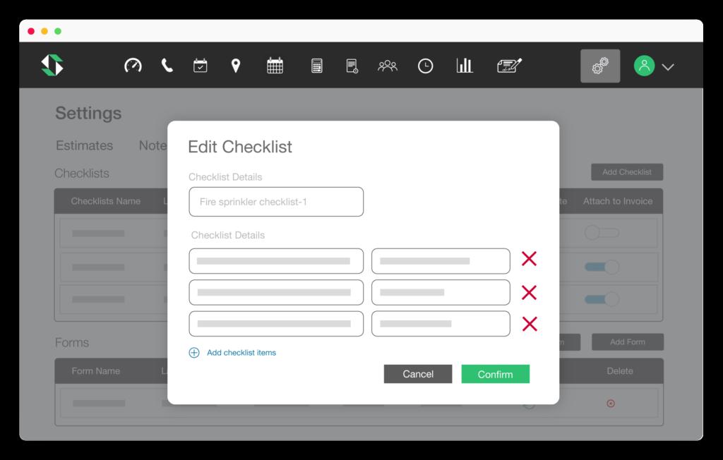 Fire Inspection checklist app