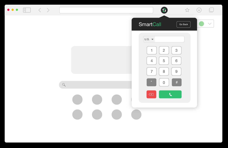 SmartServ web extension